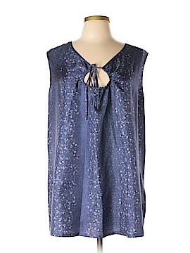 J.jill Sleeveless Silk Top Size L