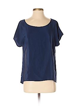 Amanda Uprichard Short Sleeve Silk Top Size S