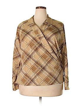 Ralph Lauren Long Sleeve Blouse Size 1X (Plus)