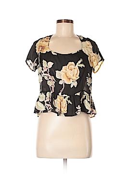 Reformed Short Sleeve Blouse Size M
