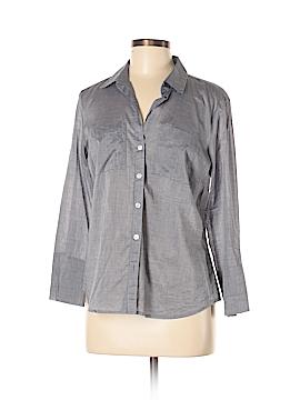 Ann Taylor LOFT Outlet Long Sleeve Button-Down Shirt Size 6