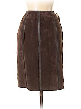 Alfani Leather Skirt Size 8