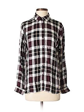 SNEAK PEEK Long Sleeve Button-Down Shirt Size S