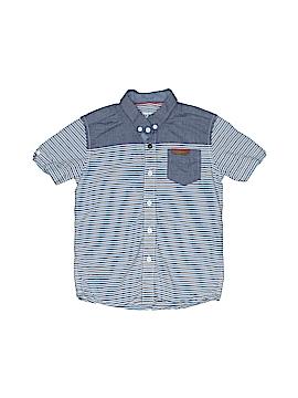 Ben Sherman Short Sleeve Button-Down Shirt Size 4 - 5Y