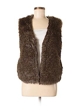 Jack. Faux Fur Vest Size M