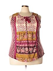 Style&Co Women Sleeveless Top Size 3X (Plus)