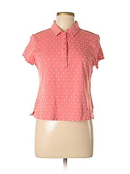 Bandolino Short Sleeve Polo Size L (Petite)