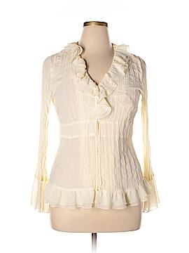 Theme Long Sleeve Blouse Size L