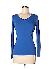 Jcpenney Women Long Sleeve T-Shirt Size S