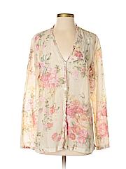 Pendleton Women Long Sleeve Blouse Size S