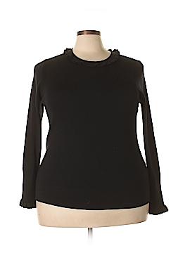Bordeaux Wool Pullover Sweater Size 18 (Plus)