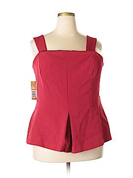 RACHEL Rachel Roy Sleeveless Blouse Size 18 (Plus)