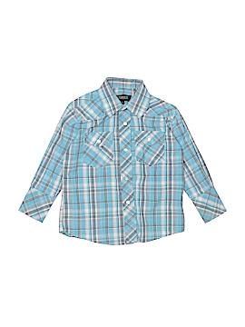 Gioberti Long Sleeve Button-Down Shirt Size 3