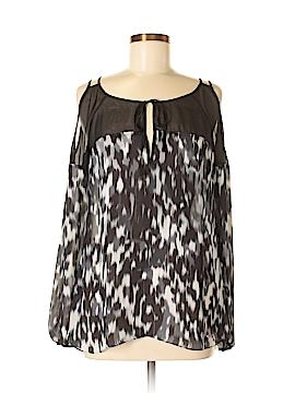 Leifsdottir Long Sleeve Silk Top Size 6