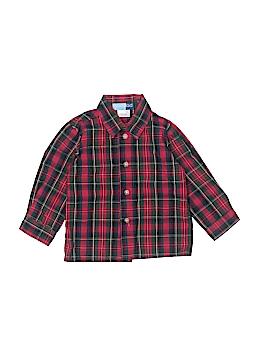 Goodlad Long Sleeve Button-Down Shirt Size 24 mo