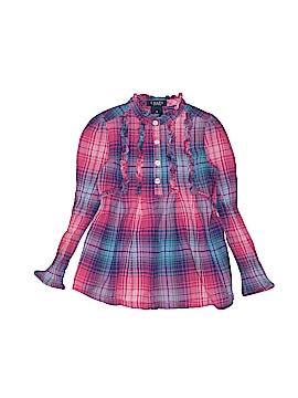 Chaps Long Sleeve Blouse Size 4