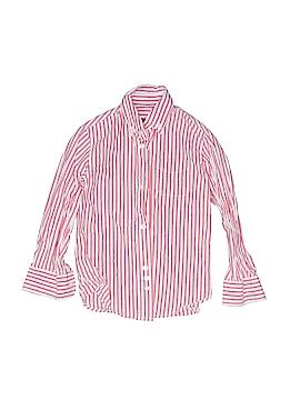 E-Land American Long Sleeve Button-Down Shirt Size 4T