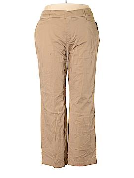 JM Collection Khakis Size 22W (Plus)
