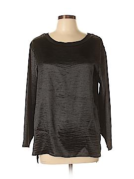 Libby Edelman Long Sleeve Blouse Size L