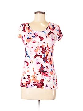 Three Pink Hearts Trixi Short Sleeve T-Shirt Size XS