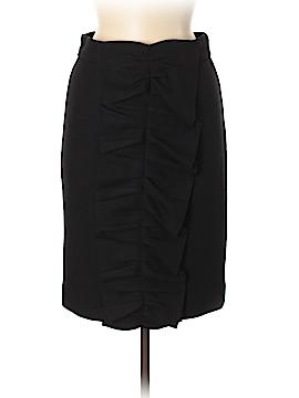 CH Carolina Herrera Wool Skirt Size 8