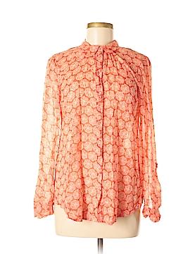 Hei Hei Long Sleeve Button-Down Shirt Size S