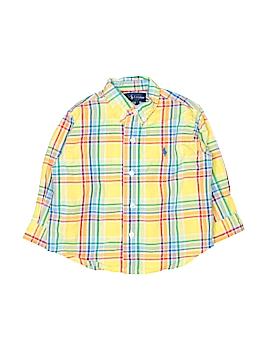 Ralph Lauren Baby Long Sleeve Button-Down Shirt Size 18 mo
