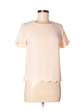 Monteau Short Sleeve Blouse Size XS