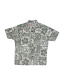 Hilo Hattie Long Sleeve Button-Down Shirt Size S (Kids)