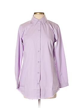 Joan Rivers Long Sleeve Button-Down Shirt Size XXS