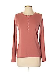 Uniqlo Women Long Sleeve Henley Size M