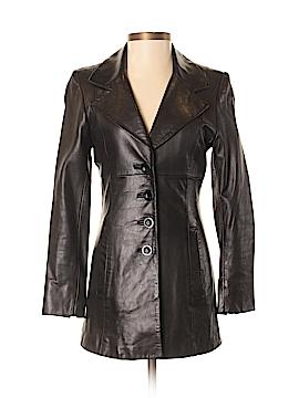 Bebe Leather Jacket Size P