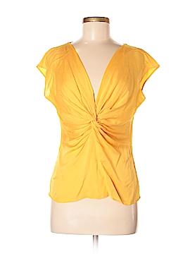 Escada Short Sleeve Silk Top Size 38 (EU)