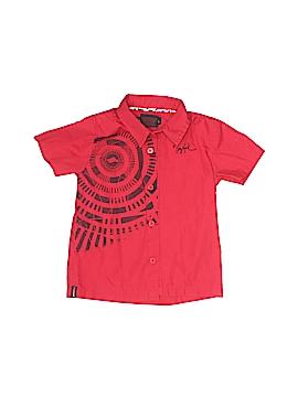 Tony Hawk Short Sleeve Button-Down Shirt Size 24 mo