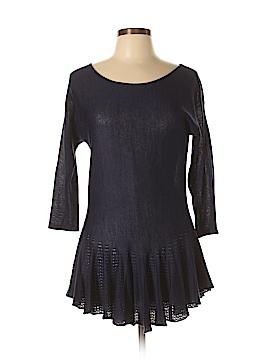 Joan Vass 3/4 Sleeve Top Size L