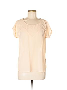 Edge Short Sleeve Blouse Size M