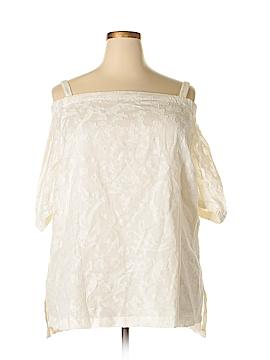 Ralph Lauren Short Sleeve Blouse Size 2X (Plus)
