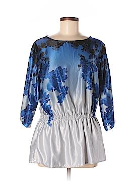 Kelly By Clinton Kelly 3/4 Sleeve Blouse Size M