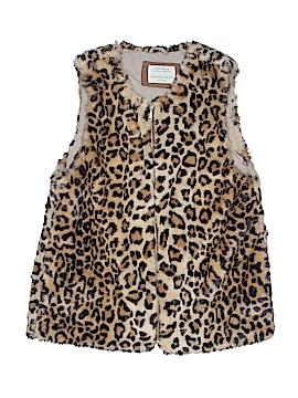 Zara Faux Fur Vest Size 14