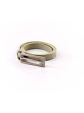 Aquascutum Leather Belt Size XS