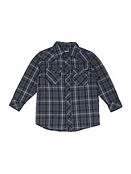 Weatherproof Long Sleeve Button-Down Shirt Size 5