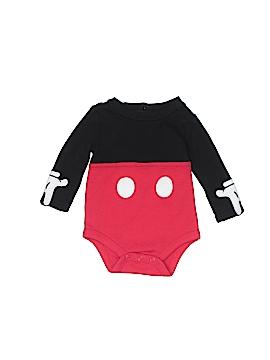 Disney Baby Long Sleeve Onesie Size 0-3 mo