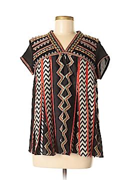 Ranna Gill Short Sleeve Blouse Size 2