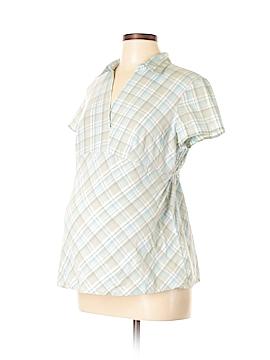 Motherhood Short Sleeve Blouse Size L (Maternity)