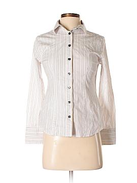 Apostrophe Long Sleeve Button-Down Shirt Size S (Petite)