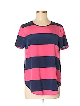 DKNY Short Sleeve Silk Top Size M