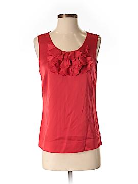 Halogen Sleeveless Silk Top Size S