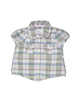 H&M L.O.G.G. Short Sleeve Button-Down Shirt Size 6-9 mo