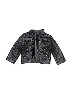 Urban Republic Faux Leather Jacket Size 12 mo