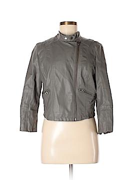 LC Lauren Conrad Leather Jacket Size M